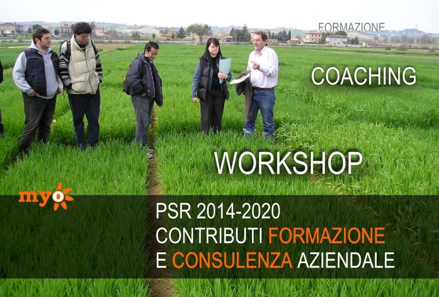 Corsi di formazione e di aggironamento in agriicoltura finanziati dal PSR 2014-2020