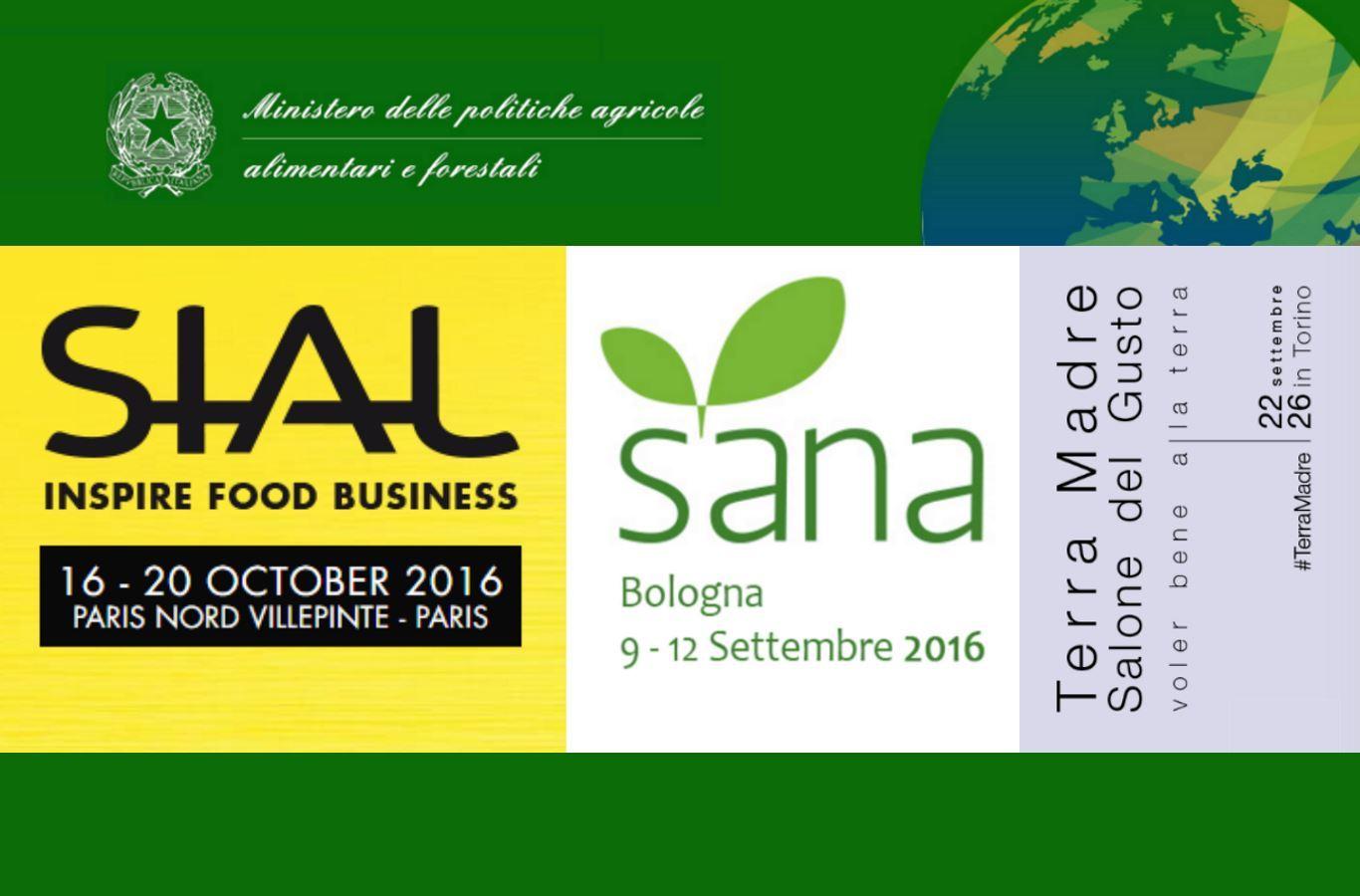 Fiere nazionali e internazionali 2016 giovani agricoltori for Fiere alimentari 2016