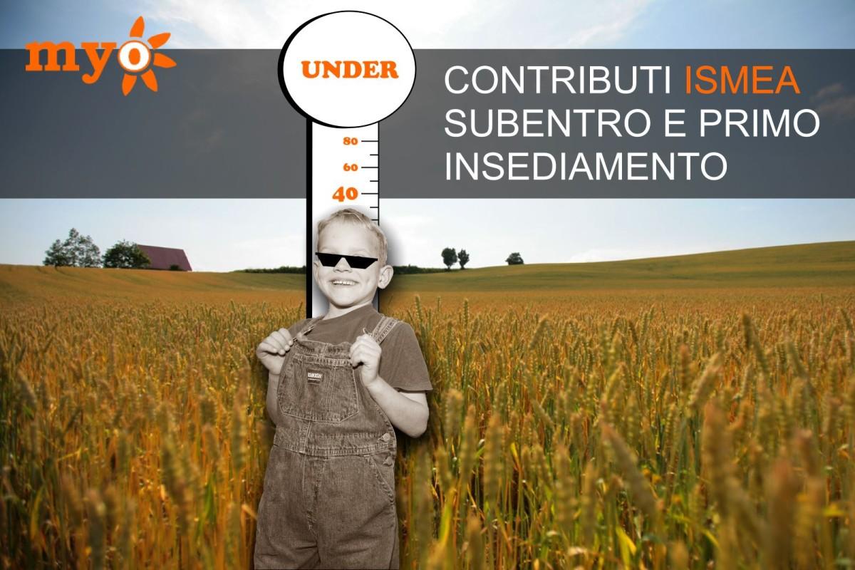 Contributi ISMEA per il subentro ed il primo insediamento under 40