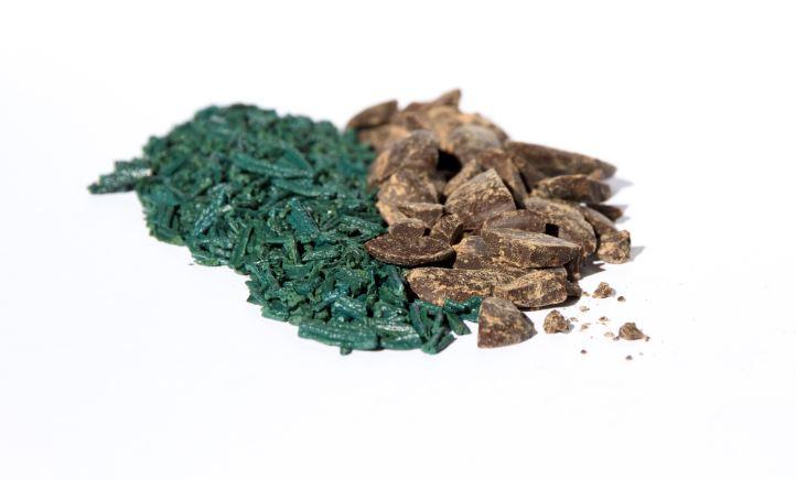 materie prime per la preparazione di barrette alghe e cioccolato